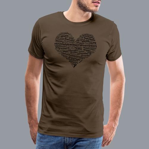#lovebluewaterdiveresort - Männer Premium T-Shirt