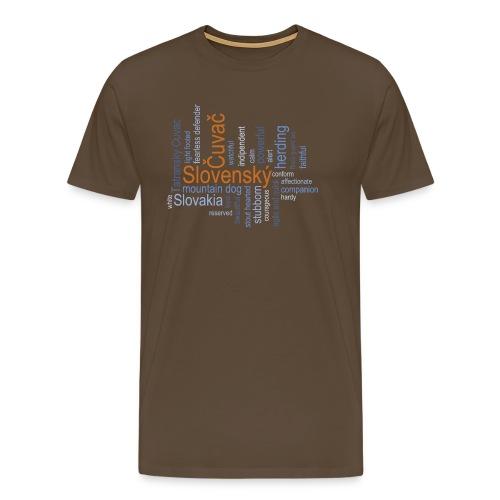 Slovensky Cuvac - Männer Premium T-Shirt