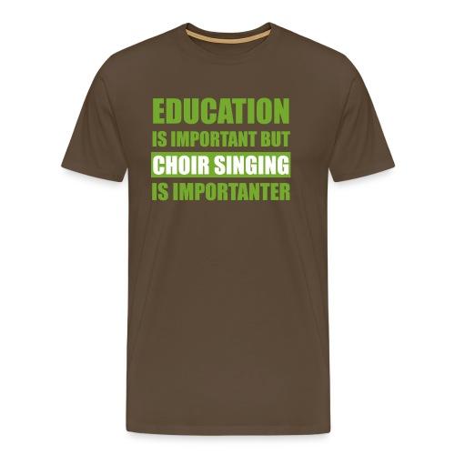 educationw - Männer Premium T-Shirt