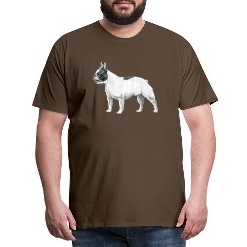 French Bulldog - Herre premium T-shirt