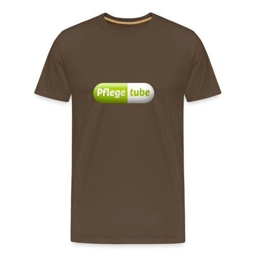 Pflegetube Logo Tasse - Männer Premium T-Shirt