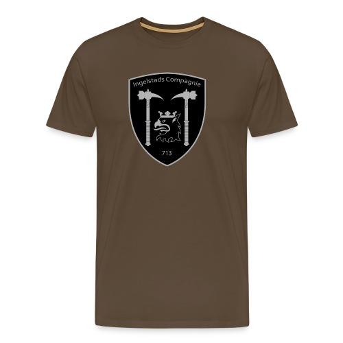 Kompanim rke 713 m nummer gray ai - Premium-T-shirt herr