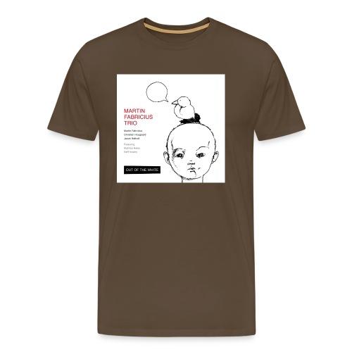 Out of the White - Mens Organic T-Shirt - Men's Premium T-Shirt