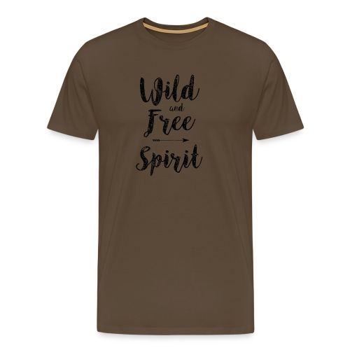 Wild-and-Free-Spirit - Men's Premium T-Shirt