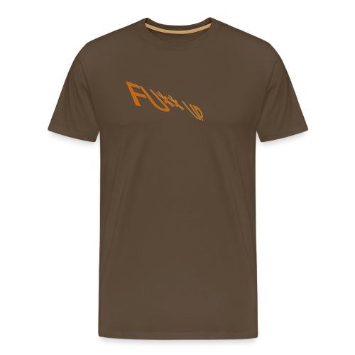 1 LOGO FÜR T SHIRT HINTEN png - Männer Premium T-Shirt