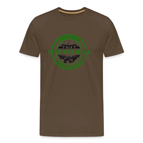 Into The Wild Trekking T-Shirt Donna - Maglietta Premium da uomo
