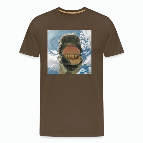 Drinking Horse / Drinkend Paard - Mannen Premium T-shirt