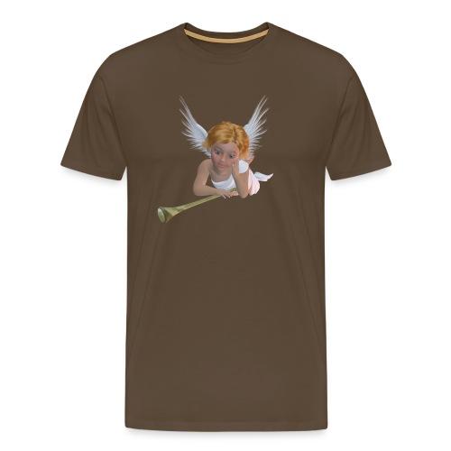 A sweet cherubic angel_41 - Mannen Premium T-shirt