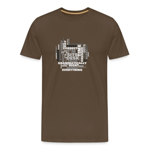 Lyrics Game - Men's Premium T-Shirt