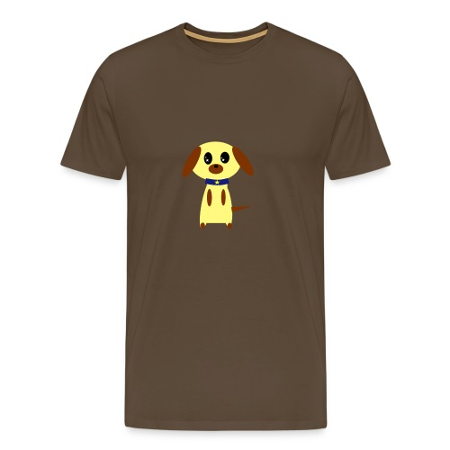 Dog Cute - Männer Premium T-Shirt