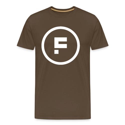 Logo_Rond_3500x3500 - Mannen Premium T-shirt