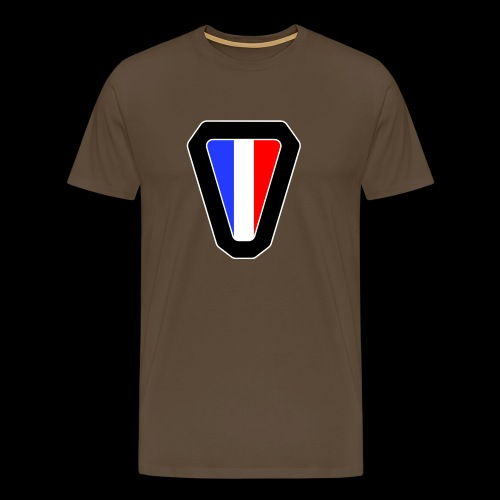 V logo - T-shirt Premium Homme