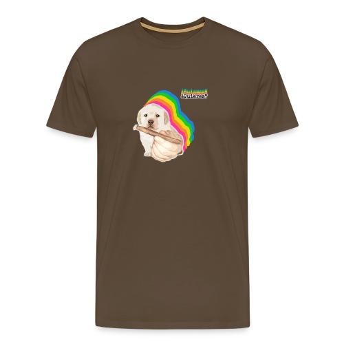 ¿Quieres? Puppy Meme - Men's Premium T-Shirt
