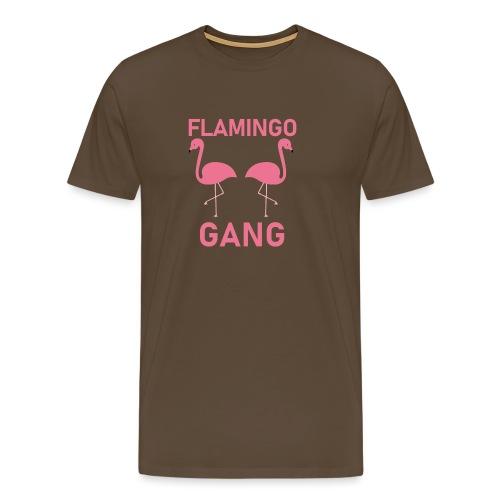 Flamingo Gang T-Shirt - Männer Premium T-Shirt