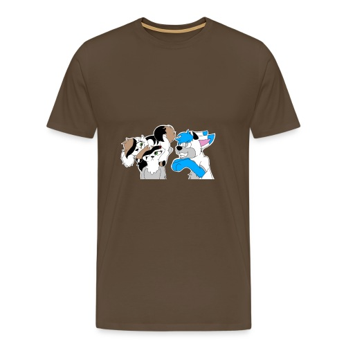 Ali, Cia & Frost Design - Männer Premium T-Shirt