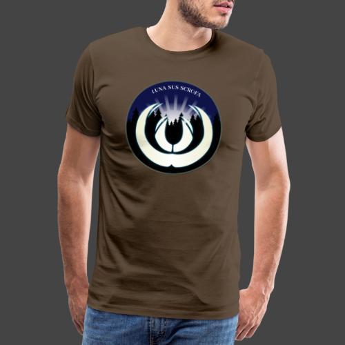 Luna sus scrofa - der Schweinemond von Jägershirts - Männer Premium T-Shirt