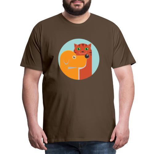 Tierfreund - Männer Premium T-Shirt