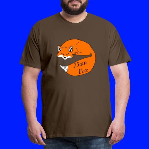 Sleeping Fox - Premium-T-shirt herr