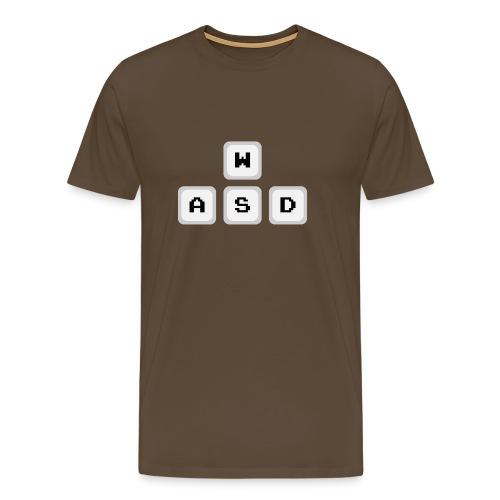 WASD - Premium T-skjorte for menn
