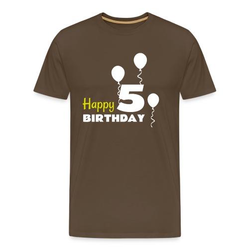 HAPPY birthday5 - Camiseta premium hombre