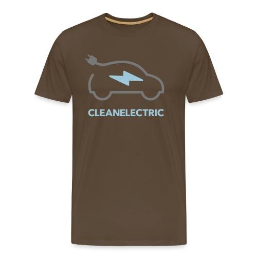 CLEANELECTRIC Logo - Männer Premium T-Shirt