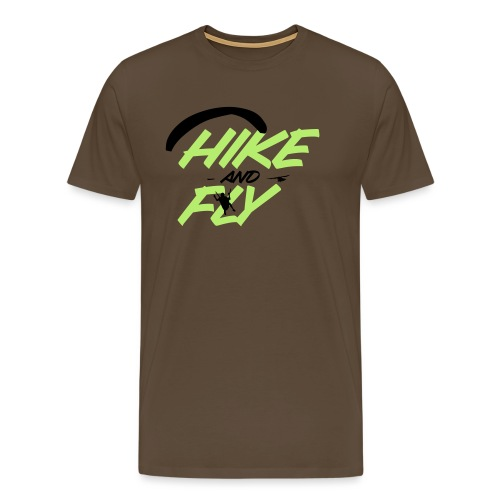 Hike and Fly Paragliding - Männer Premium T-Shirt