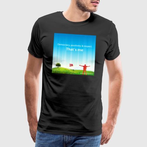 Rolling hills tshirt - Herre premium T-shirt