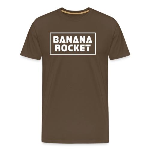 Banana Rocket Classic - Maglietta Premium da uomo