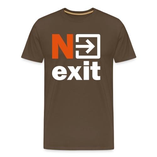 Nexit DB - Mannen Premium T-shirt