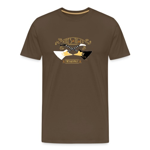 Here s to us Version 1 - Men's Premium T-Shirt