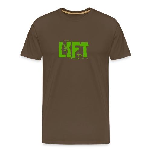 lift - Maglietta Premium da uomo