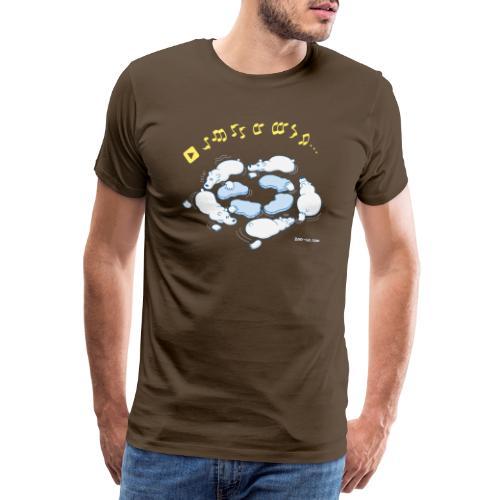 Playing Musical Chairs - Men's Premium T-Shirt