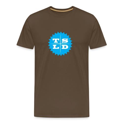 tsld-cog Front - Mannen Premium T-shirt
