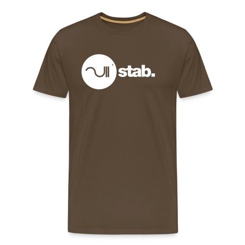 stablogotransparant4000 - Mannen Premium T-shirt