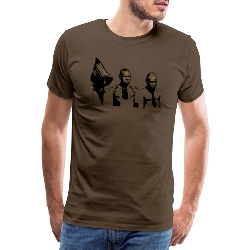 3 rotkes - Männer Premium T-Shirt