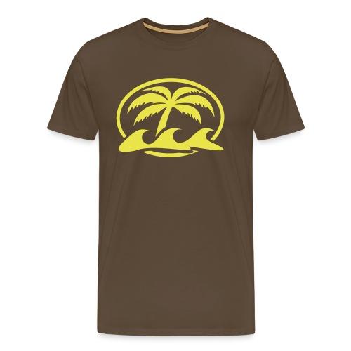 Logo Mahana no sfondo - Maglietta Premium da uomo