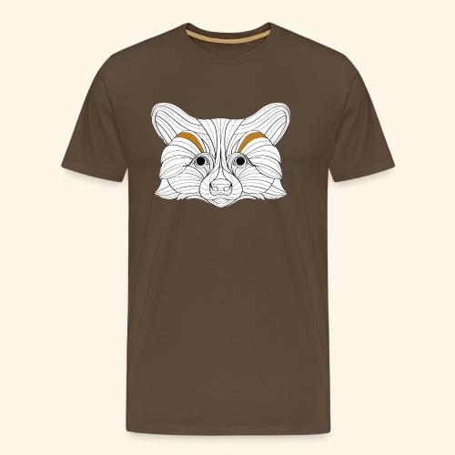 Der Fuchs - Männer Premium T-Shirt