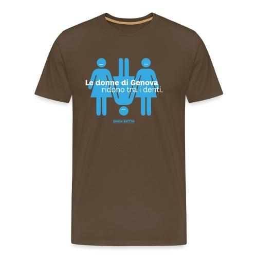 Le donne di Genova. - Maglietta Premium da uomo