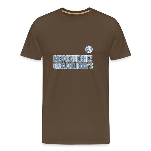 bienvenue polo - T-shirt Premium Homme