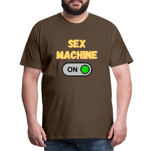 SEX MACHINE - Men's Premium T-Shirt