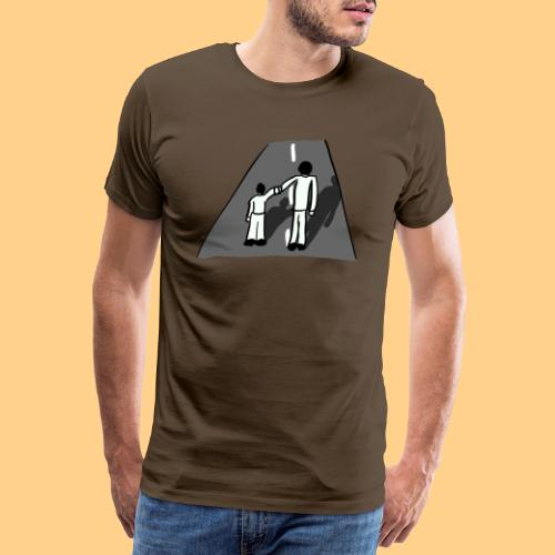 Dad and son - T-shirt Premium Homme