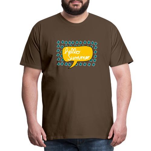 Hello Summer - Männer Premium T-Shirt
