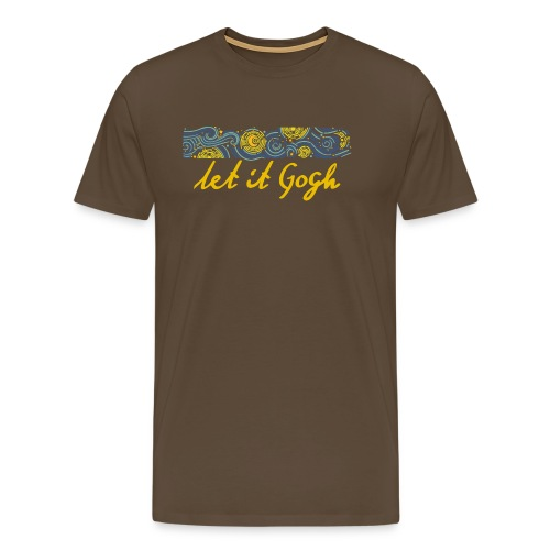 LET IT GOGH - Men's Premium T-Shirt