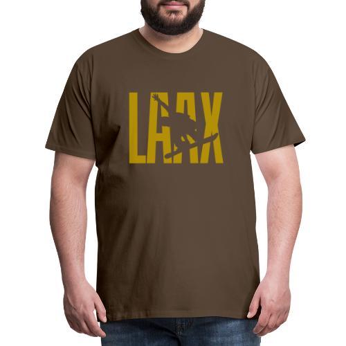 LAAX Snowboard Winter Sport - Männer Premium T-Shirt