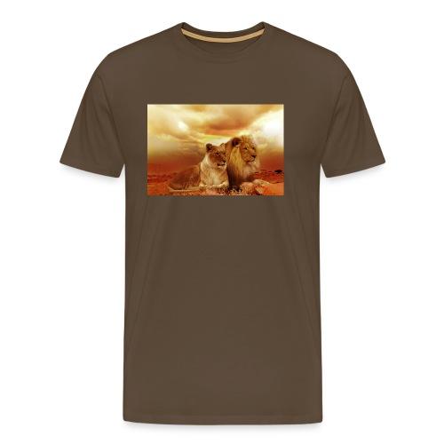 Löwen Lions - Männer Premium T-Shirt