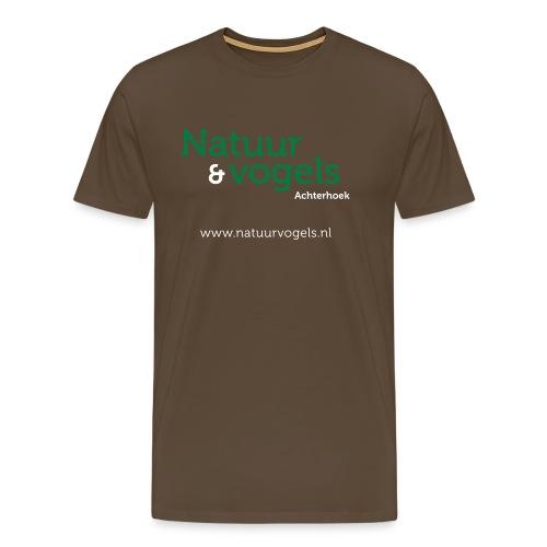 Natuurvogels2016 - Mannen Premium T-shirt