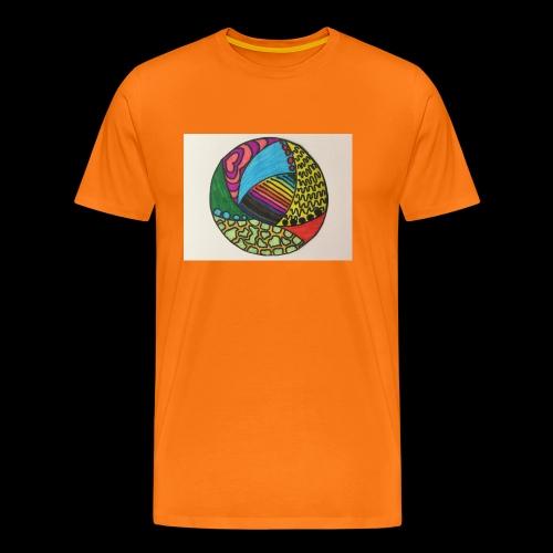 circle corlor - Herre premium T-shirt