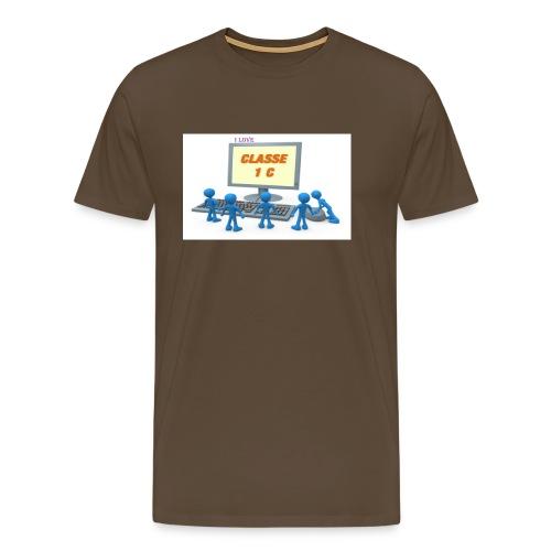 i love - Maglietta Premium da uomo