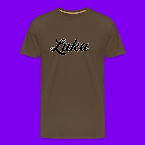 Luka Design - Mannen Premium T-shirt