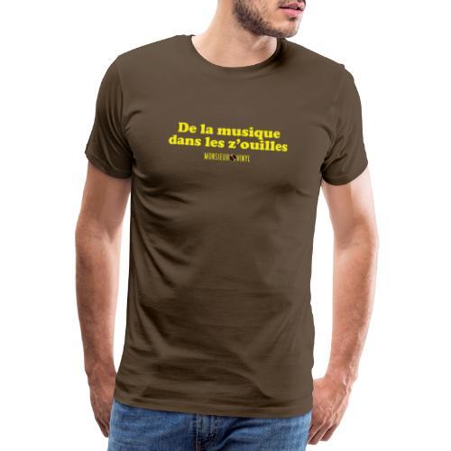 Collection De la musique dans les z'ouilles - T-shirt Premium Homme